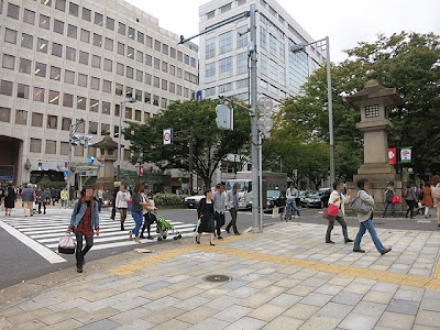 表参道の交差点