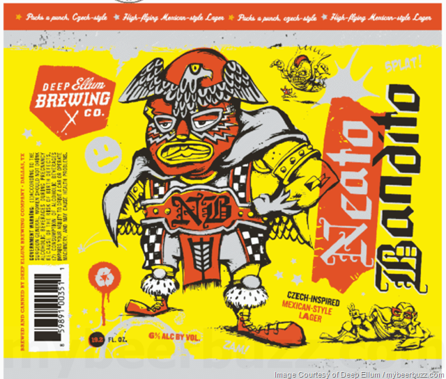 Deep Ellum Neato Bandito Coming To 19.2oz Cans