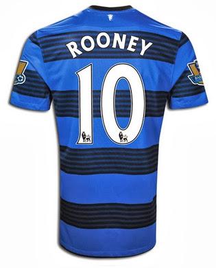 Wayne Rooney 2013-14 Shirt