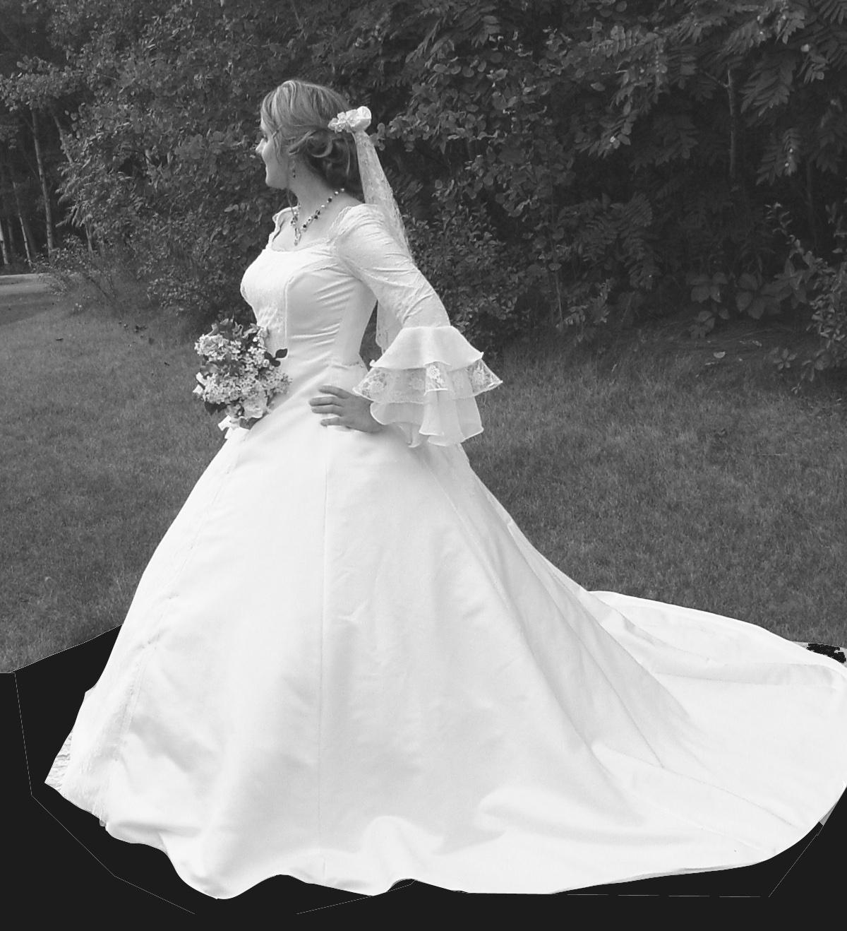 Winter Wonderland Wedding Gowns: Hadil's Blog: Or A Winter Wedding