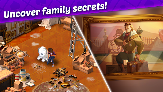 Ava's Manor – A Solitaire Story Mod Apk (Unlimited Lives + Money) 3