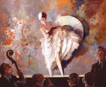 Everett Shinn - French Vaudeville, 1937