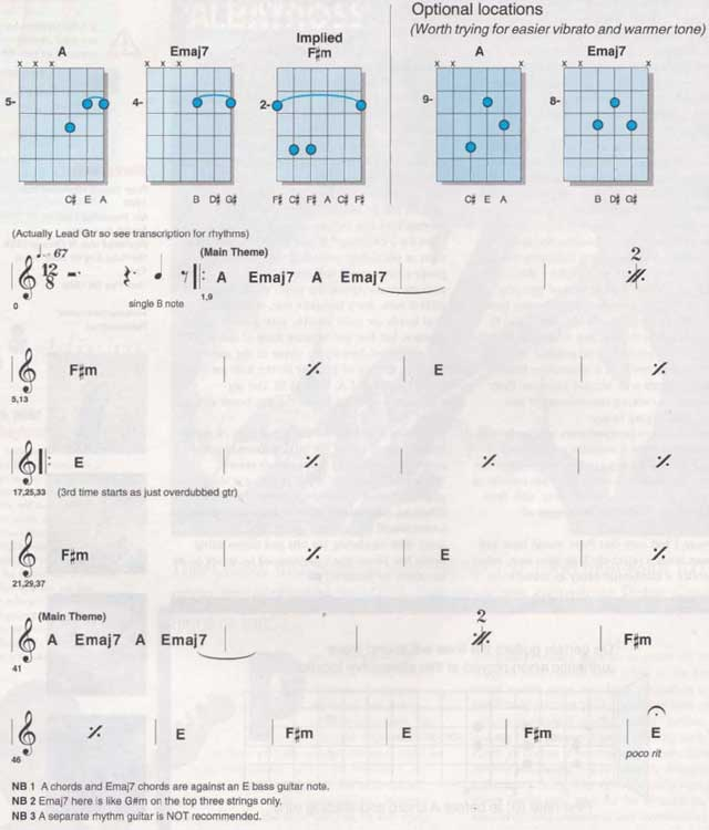 Albatross Chord Diagrams and Chart
