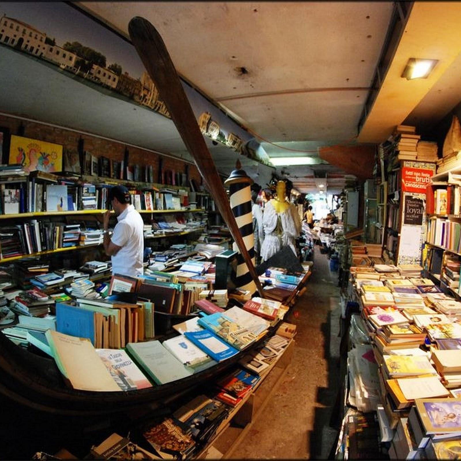 Libreria Acqua Alta, Venice's Flooded Bookstore