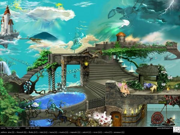 Nightmare Of Lands 11, Magical Landscapes 3