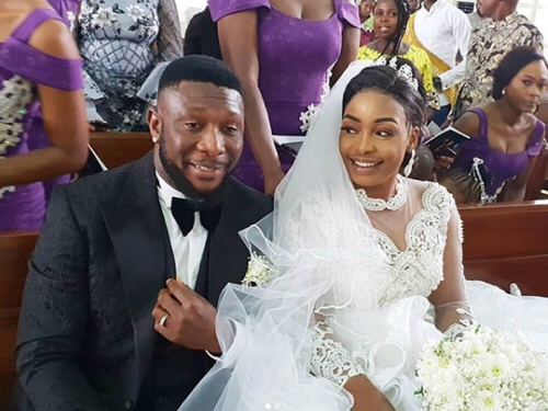 Check Out Photos From Nollywood Producer Tchidi Chikere And Nuella Njubigbo's White Wedding