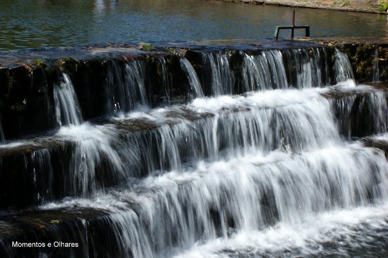 A água no Rio Pêra
