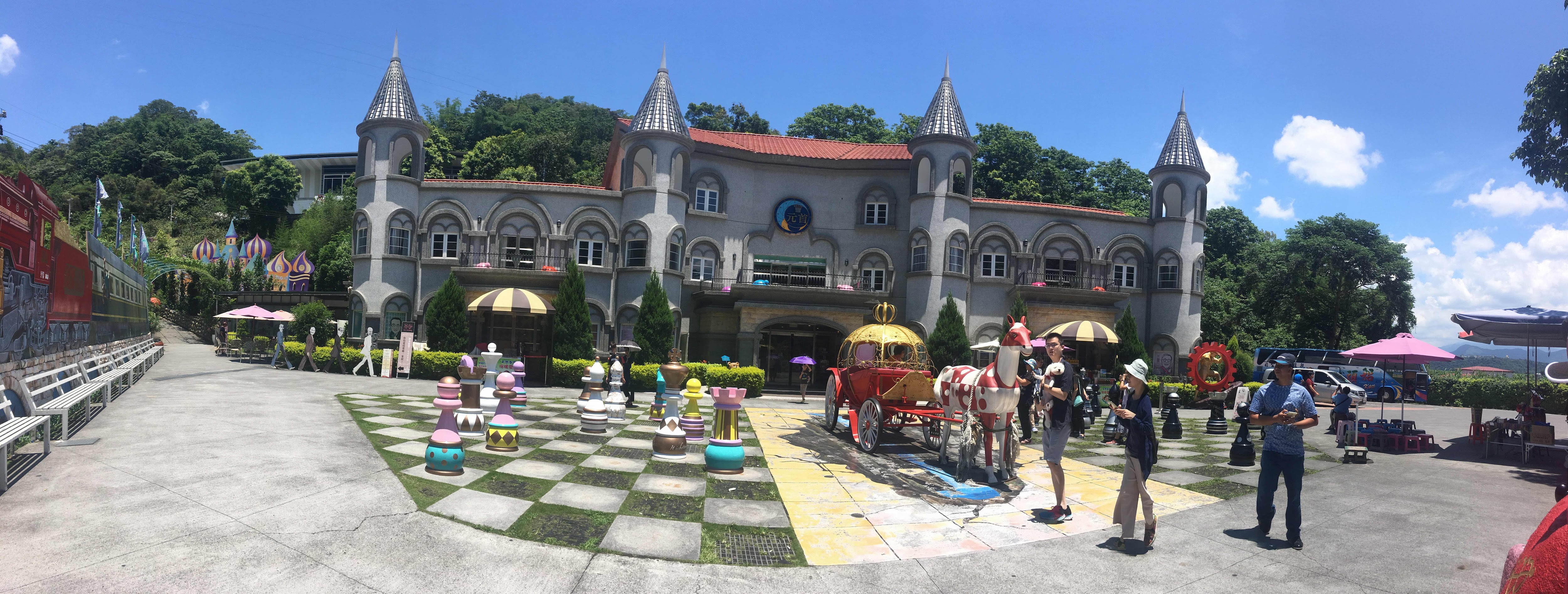 king's garden themed bakery puli nantou Taiwan
