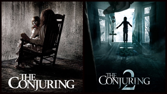 Merc With A Movie Blog Side By Side The Conjuring 2013 Vs The Conjuring 2 2016