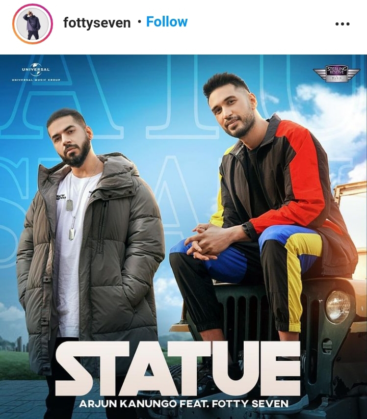 """""""Statue"""" - New Song By Arjun Kanungo Feat. Fotty Seven To Be Released On December 21"""