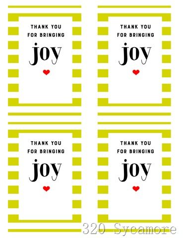 joy printable 4 to page