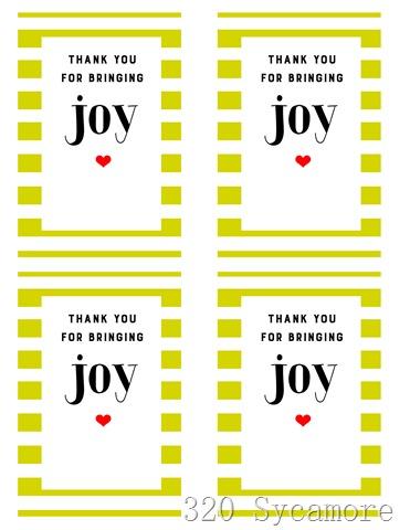 joy printable 4 to page