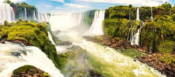 Férias em Foz do Iguaçu, Paraná, Brasil