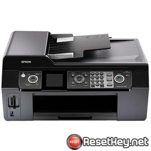 Resetting Epson WorkForce 500 printer Waste Ink Counter