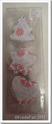 Wooden Christmas Decoration Tags