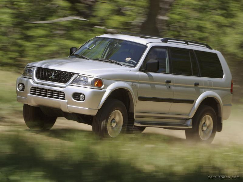 2002 mitsubishi montero sport suv specifications pictures prices. Black Bedroom Furniture Sets. Home Design Ideas