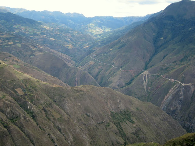 View from Kuelap, Peru