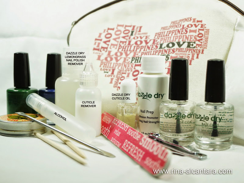 Simply Rins Nail Care Kit Contents