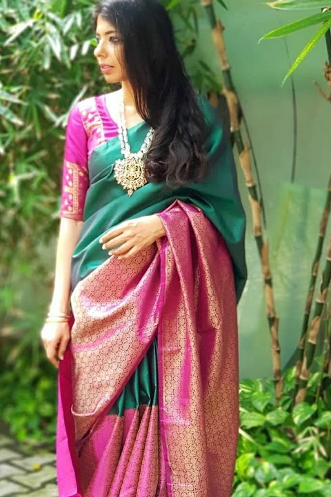 Attending An Wedding Event?Checkout The Mind Blowing Silk Saree Collection Here.