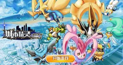 Tidak Mau Kalah , China Bikin Game Tiruan Pokemon Go , Ini Nama Gamenya !!