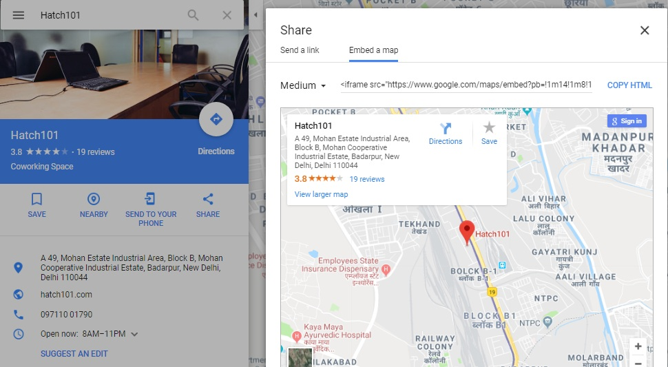 Embed a map direction wrong - Google Maps Help on goa map, islamabad map, gurgaon map, haryana map, vizag map, los angeles map, madras map, mumbai map, kolkata map, moscow map, karachi map, india map, agra map, indian subcontinent map, malacca map, hong kong map, deccan plateau map, gujarat map, vasant vihar map, dhaka map,
