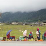 Un village tibétain (Shangjisha, 3200 m) au Sud de Shangri-la (Zhongdian), le 22 août 2010. Photo : J.-M. Gayman