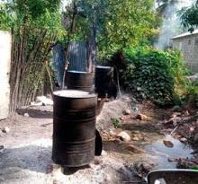 Cabral: Ocupan 23 tanques presumiblemente de clerén
