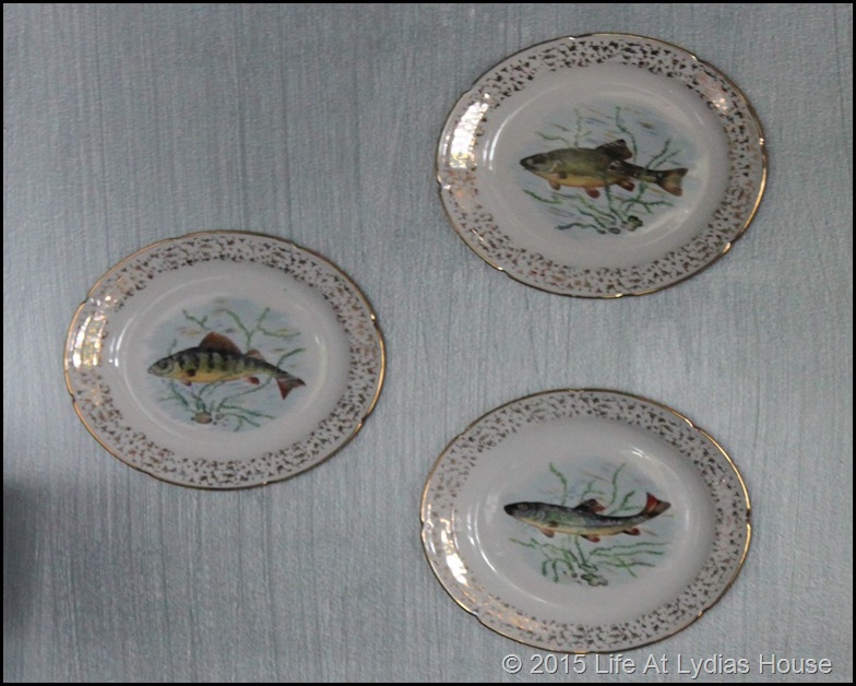 Limoges fish plates 3A
