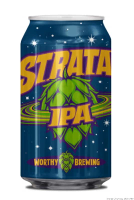 Worthy Brewing Releasing Strata IPA Cans