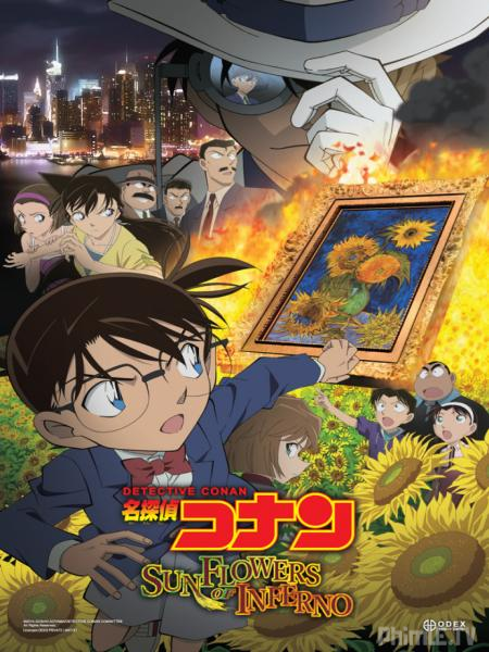 Phim Thám tử Conan Movie 19: Hoa Hướng Dương của biển lửa HTV3 Lồng Tiếng - Detective Conan Movie 19: Sunflowers Of Inferno - Lồng tiếng