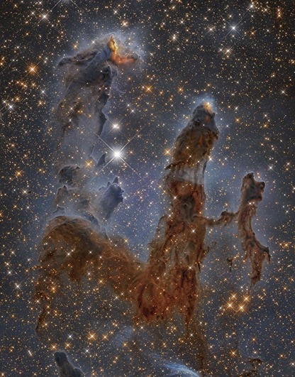 Nebulosa da Águia e Pilares da Criação