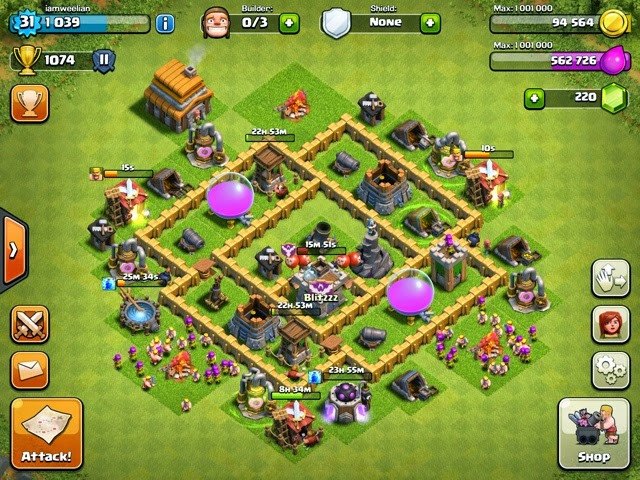 clash of clans town hall 5 what should i upgrade first rewind