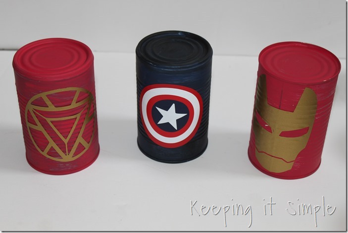 #ad Avengers-Halloween-Party-Game-Bowling-Cans #AvengersUnite (8)