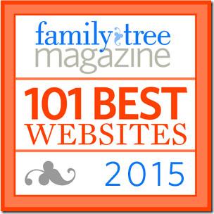 祖先的内幕家是家庭树杂志之一's top 5 blogs.
