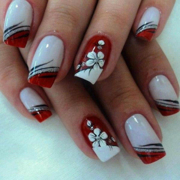 Red Nail Art Designs - Cute Nail Ideas for a Red Manicure 2