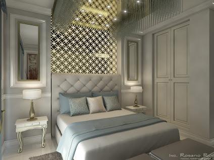 Progetto di una stanza d 39 albergo e dei componenti d 39 for Componenti di arredo