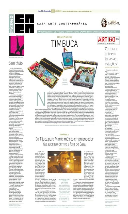 Página da Caza - 07 de Setembro de 2012