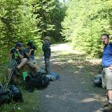Trek permit at the Trailhead