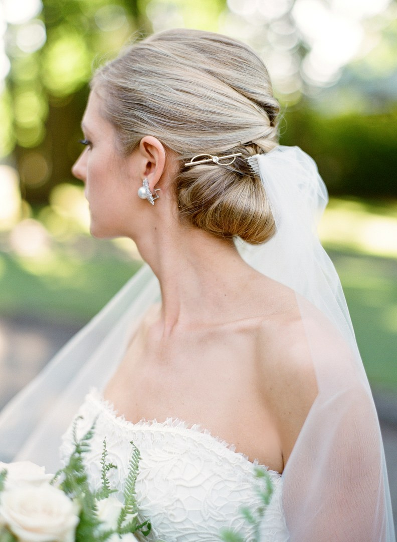 Wedding Hairstyle From Real Weddings 2018 For Women's 2