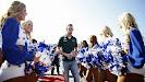 Giedo van der Garde with F1 grid girls