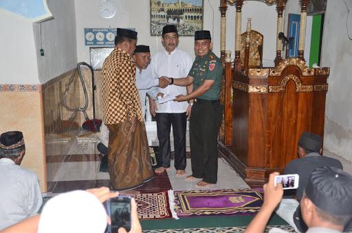 Dandim Bone Bersama Tim V Safari Ramadhan di Lappariaja