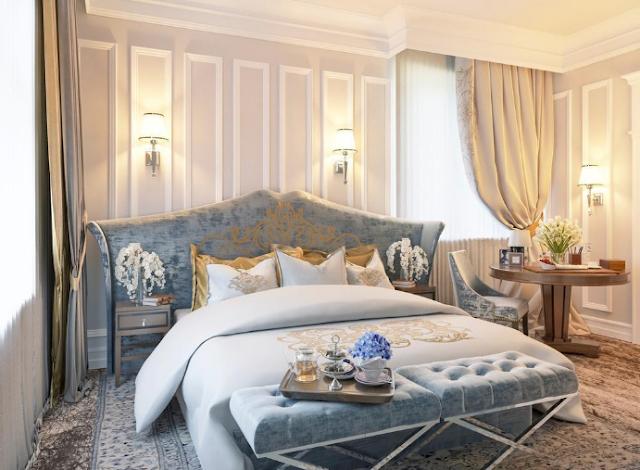 Mẫu thiết kế nội thất phòng ngủ chuẩn 5 sao