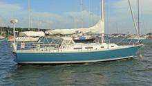 J/42 cruising racing sailboat called MAGIC