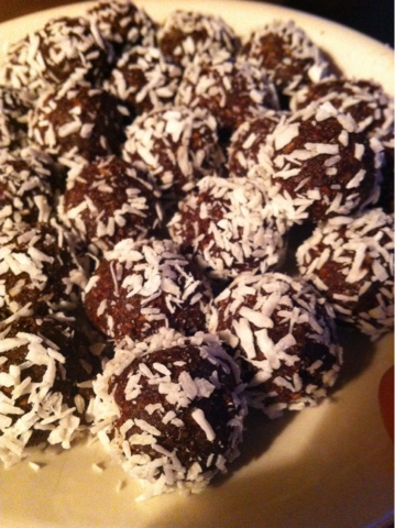 chokladbollar paleo