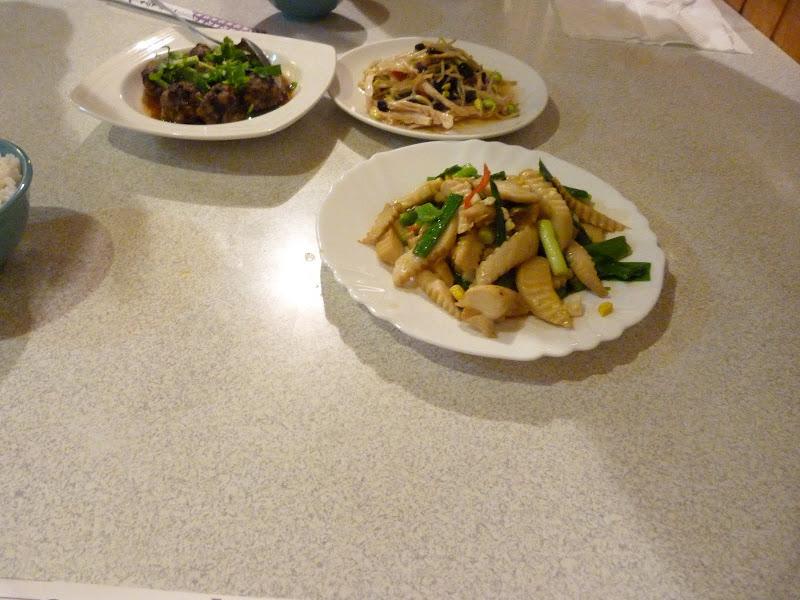 nourriture Haka ,ça c'est super bon