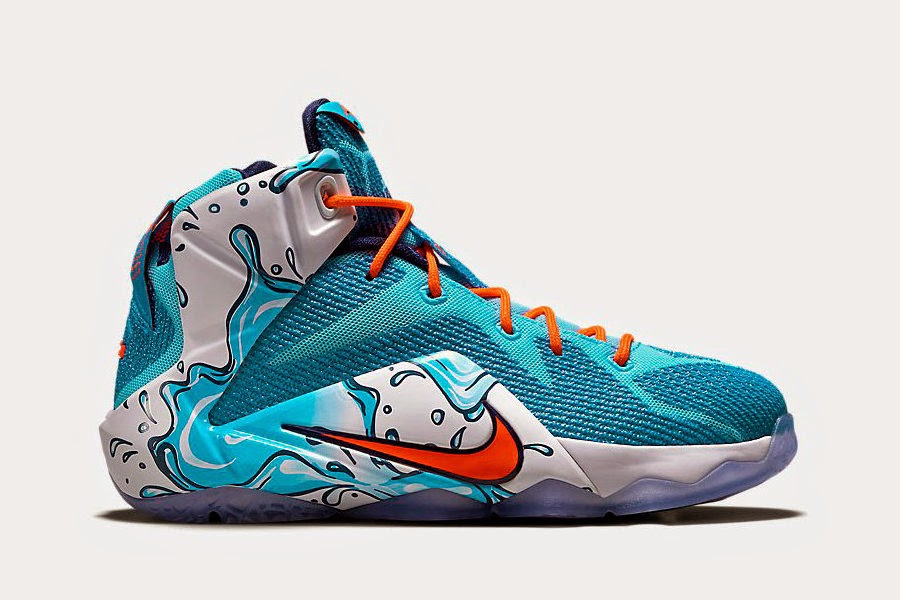 ... Available Now Kids8217 Exclusive Nike LeBron 12 GS 8220Buckets8221 ... adc8172f40