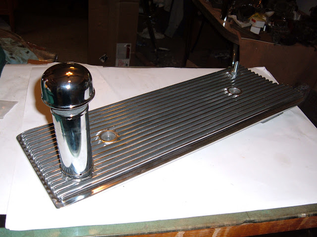Flat style valley with baffle, PCV and filler tube. Fits all nailheads 175.00