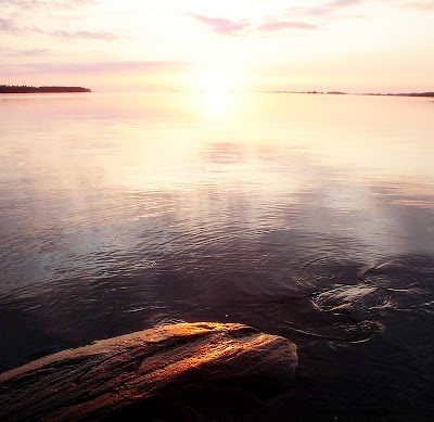 carulmare, fotografier, solnedgång, hav, glöd