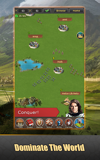Lords of Kingdoms - medieval imperia mobile online 1.5.2 screenshots 3