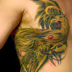 man side tattoo - Phoenix Tattoo